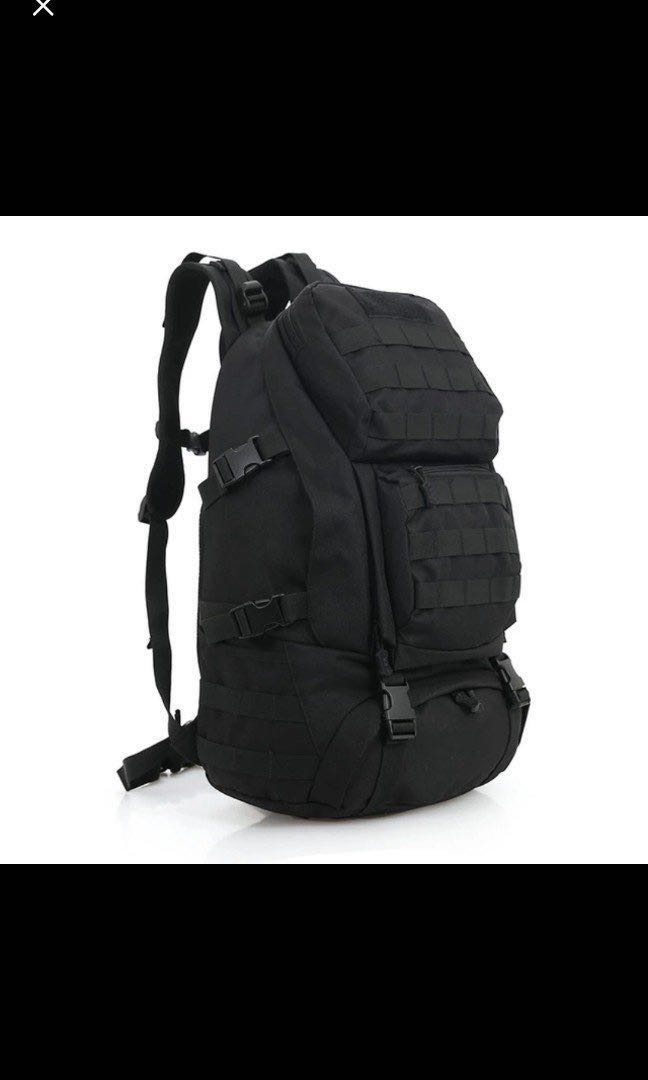 b7a165b4a7ab Tactical Backpack Molle Backpacks Assault Gear Camo Navy Army ...