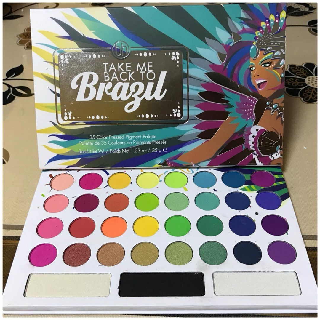Take Me To Brazil Palette Health Beauty Makeup On Carousell
