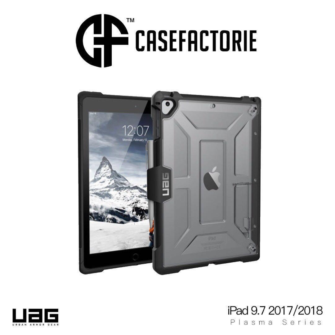 premium selection ebcce 29f00 UAG Plasma Case with Apple Pencil Holder for iPad 2018/2017