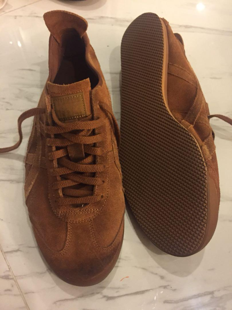 new arrival 4f3cb fb7ee Used Onitsuka Tiger Mexico 66 brown suede US13, Men's ...