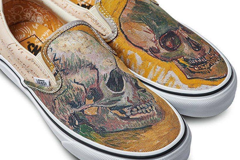 f6de5e6ed3 VANS x Van Gogh Museum Classic Slip-Ons