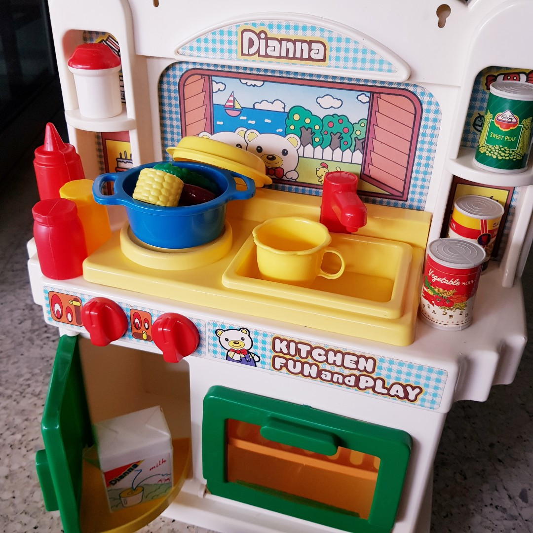 Vintage Kitchen Playset Babies Kids Toys Walkers On Carousell