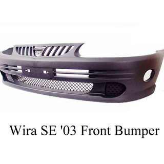 Wira SE '03 Front Bumper