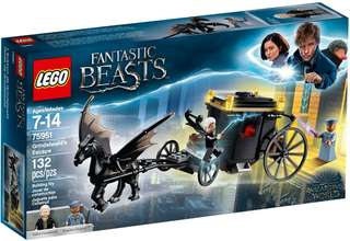 Lego Harry Potter 75951 Grindelwald's Escape 哈利波特