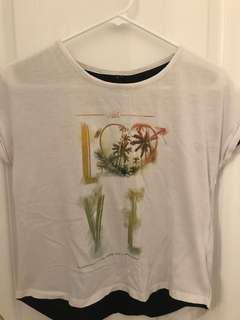 T-shirt with love design