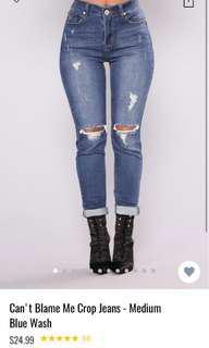 Can't Blame Me - Fashion Nova Jeans