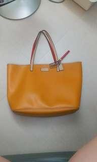 Coach 橙黃色 Tote Bag Handbag