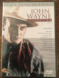 John Wayne 9 hours DVD