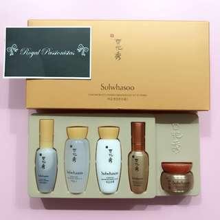 BN Sulwhasoo Ginseng 5 piece SET Renewing Kit.