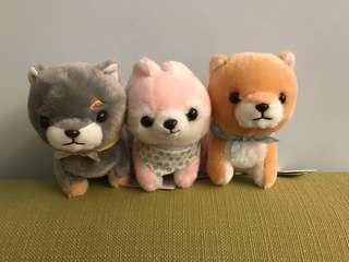 Amuse 粉色柴犬