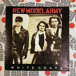 NEW MODEL ARMY - WHITE COATS (1987) EP vinyl record