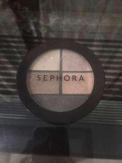 Sephora smokey eyeshadow