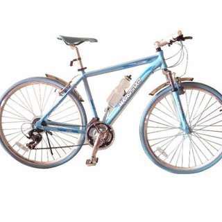 Marsstar Sider Touring Bike Blue
