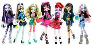 Monster High Doll Picture Day Set