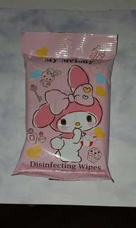 My Melody  wet wipes 濕纸巾 By mail only