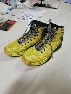 1ec523dc1117 Murah Sepatu Basket Adidas Crazy Quick Ori 44 2 3 siap tempur Rare!