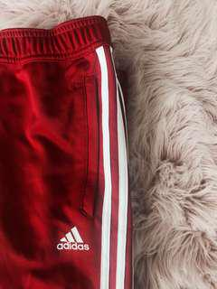 brand new red adidas pants