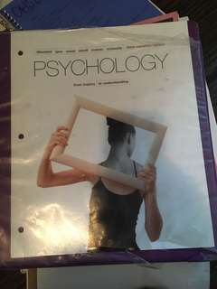 From inquiry to understanding psychology textbook