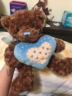 🚚 深棕色泰迪熊