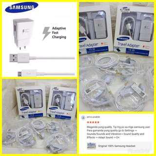 Samsung charger&earset promo bundle