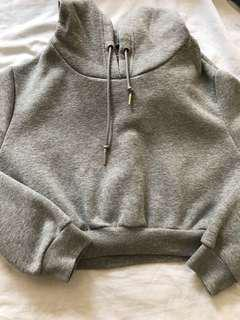 Urban Planet Grey Cropped Sweater