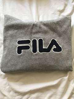 Oversized Fila Sweater