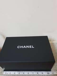 Chanel empty box and paper bag