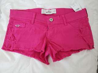[NEW] Hollister pink demin shorts