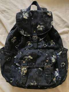 Aeropostale Floral Backpack