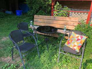 Jysk brava patio set