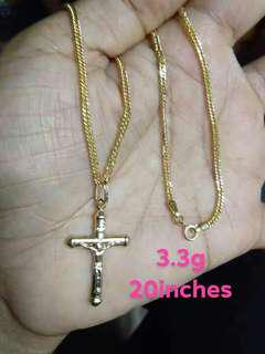 ONHAND 3.3G SD GOLD NECKLACE