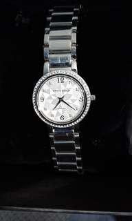 Aries Silver Watch