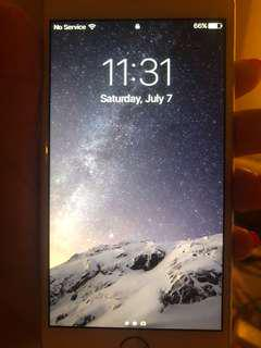 unlocked iPhone 6 64 GB perfect condition no scratches or cracks