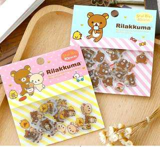 🚚 80pcs Rilakumma Cute Little Stickers @ $2 per pack only!!!Ready Stocks!!! Newly Arrived!!!