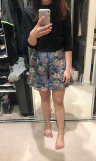 Fashmob Floral Shorts