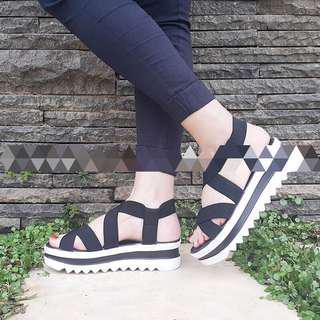 Sandal Platform Karet