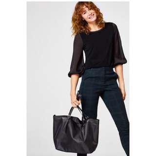 Esprit Lightweight Nylon Shopper Bag