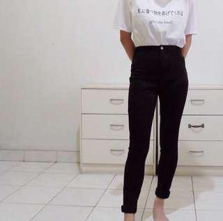 SALE‼️Forever21 HW black pants