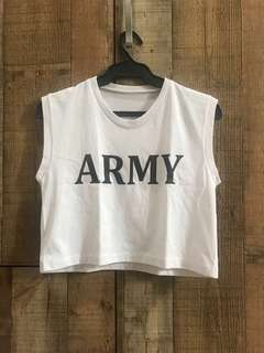 Army Boxy Top