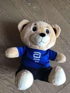 [bb展直送] [全新低放] 雅培 bear bear 可愛小熊🐻