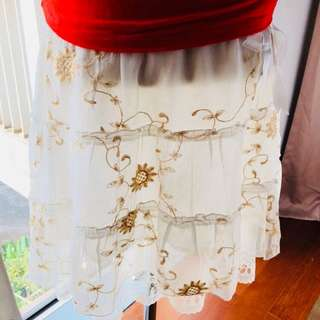 White Skirt Lace