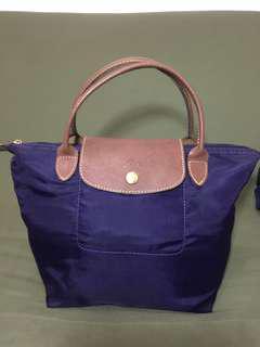 Longchamp ungu original size S