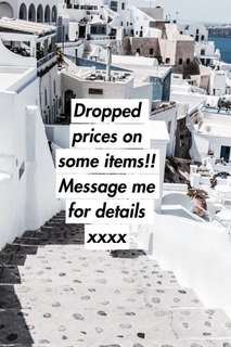 Price dropped on items!!