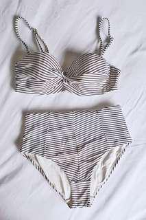 H&M 2 pc swimsuit