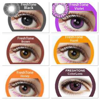 Colour contacts
