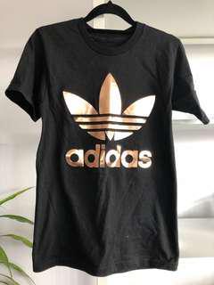 BRAND NEW Adidas Trefoil Tee Rose Gold