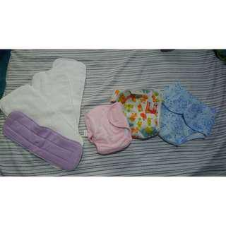 Cloth Diaper with Inserts Baby Newborn TAKE ALL