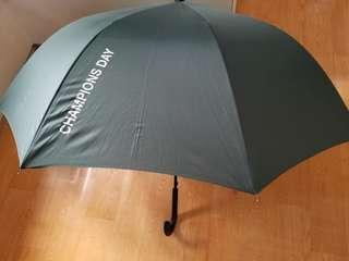全新 雨傘 長遮 遮 夏天 雨天 Umbrella HKJC