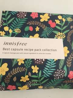 Innisfree Best Capsule pack collection