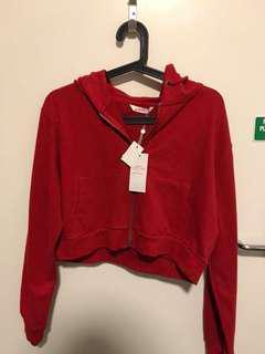 Women zip hoodie size L